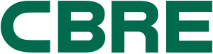 CBRE logo - green